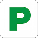 provisional p2 green p plate 125